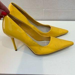 Delicious Yellow heels